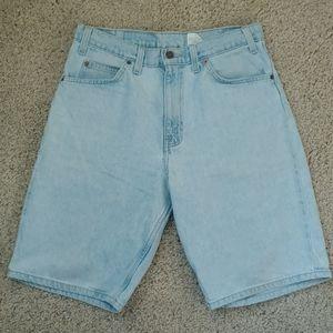Levi's 550 Jean shorts